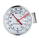 KitchenCraft Stainless Steel Milk Frothing Thermometer