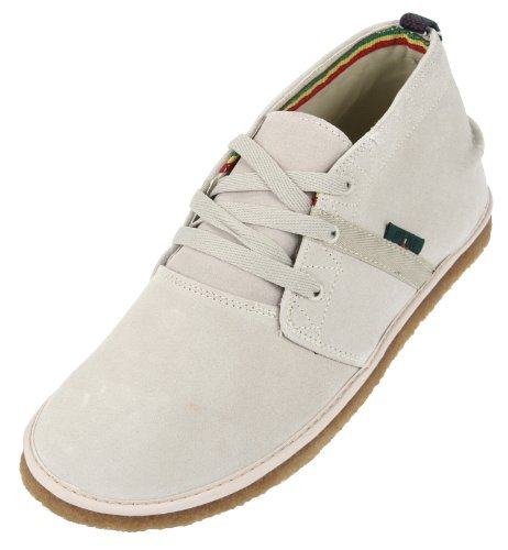 Bob Marley One Love Pipeline Casual Mens Lace Up Shoes, Sand Suede, 11 M US 9 UK Sand Suede