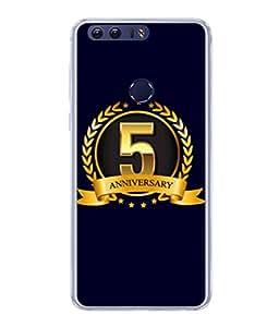 PrintVisa Designer Back Case Cover for Honor 8 (Life Love Occasions Aniversary Vision Celebrations)