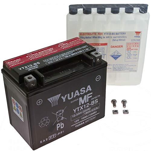 AGM Batterie Triumph Tiger 1050se 10-12YUASA ytx12BS Dry