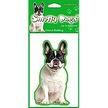 BullDog francés (Pied) perro regalo–2x. Ideal ambientadores para el coche