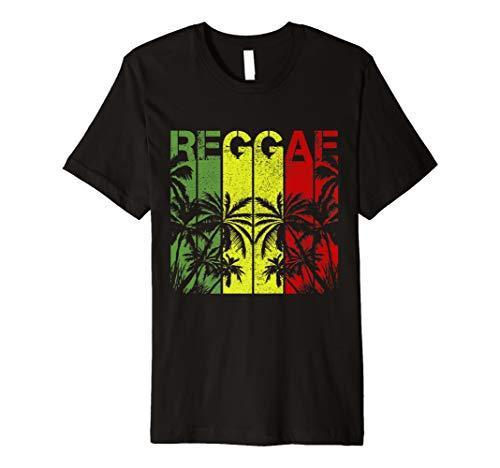 Herren Reggae Shirt - Jamaika Rastafari Rasta Musik Dub T-Shirt