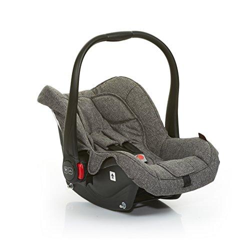 Preisvergleich Produktbild ABC Design 101297703Carseat Hazel Track Kindersitz für Auto, Grau