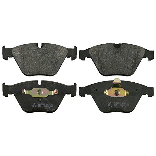 Preisvergleich Produktbild febi bilstein 16433 Bremsbelagsatz (vorne, 4 Bremsbeläge), für Verschleißwarnanzeiger vorbereitet