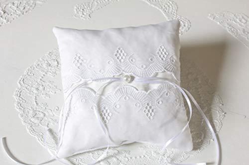 Ringkissen 'Lace' Trauringe Kissen für Eheringe Hochzeit Unikat handmade