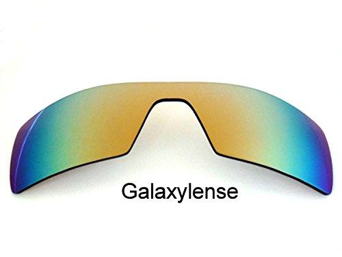 Galaxis Ersatzgläser für Oakley Oil Rig Gold Farbe Polarisierend -