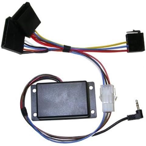 Pioneer - Adaptador de mando a distancia de volante para Renault con pantalla separada (modelos a partir de
