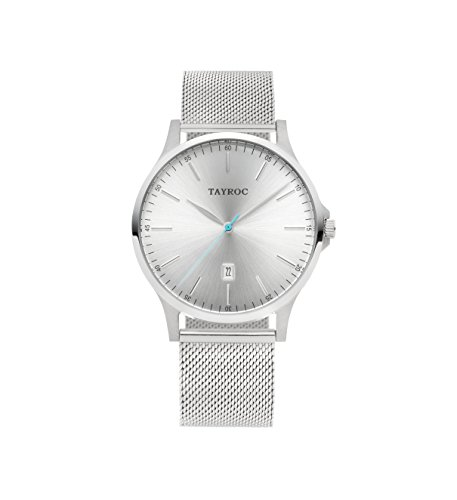 Tayroc Classic Silver Mesh horloge TXM106