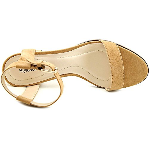 Style & Co Mullaney Femmes Simili daim Sandales Dark Natural