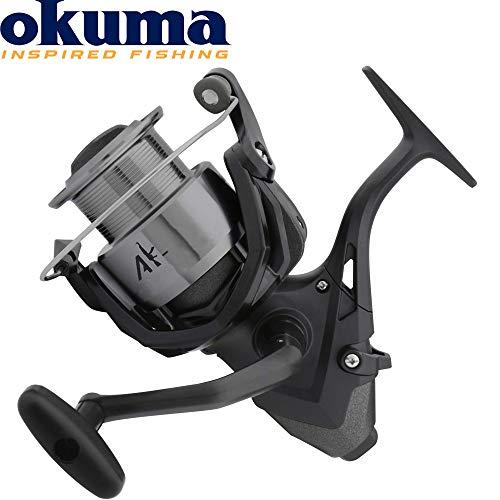 Okuma Baitfeeder AK-5000 Freilaufrolle zum Karpfenangeln & Friedfischangeln, Angelrolle zum Feedern, Stationärrolle, Feederrolle