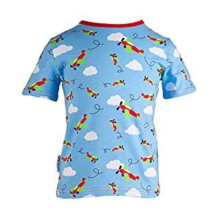 JNY Colourful Kids Baby Boys' Tee Blue Light Blue - Blue - 12-18 Months