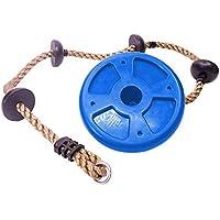 Aitravel - Cuerda de Escalada para niños con 4 Nudos de plástico, Ideal para Casas de árboles y Marcos de Escalada