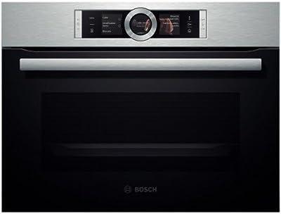 Bosch CNG6764S1 - Horno (Integrado, Negro, Tocar, Frente, TFT, Pirolítico)