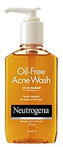 Neutrogena Oil-Free Acne Wash, 175ml