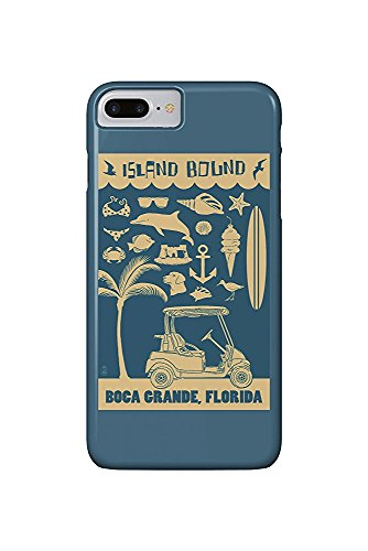 Boca Grande, Florida - Coastal Icons (iPhone 7 Plus Cell Phone Case, Slim Barely There)