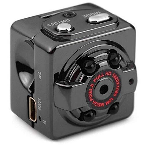 qulista 1080p hd telecamera, carta di tf di sostegno della registrazione del video di 360 gradi della macchina fotografica mini fotocamere digitali compatte e set di a microcamere spia
