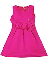 Guess Robe Rose Saumon J82k115 - Rose - Taille 14 ans
