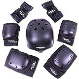 RCB Ensemble de protection réglable Accessoire pour vélo, hoverboard, skateboard, scooter électrique et Trotinette Electrique