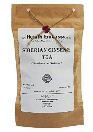 Ginseng Siberiano Radice ( Eleutherococcus Senticosus ) 50g / Siberian Ginseng Root Cut Tea 50g Health Embassy - 100% Natural