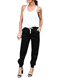 43103e955f8 Amazon.fr   Pantalon Carotte - 42   Femme   Vêtements