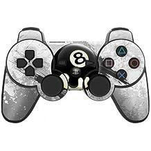 Sony Playstation 3- Lámina protectora adhesiva para mando de PS3, 8Ball