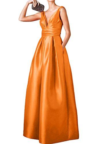 Ivydressing - Robe - Trapèze - Femme Orange