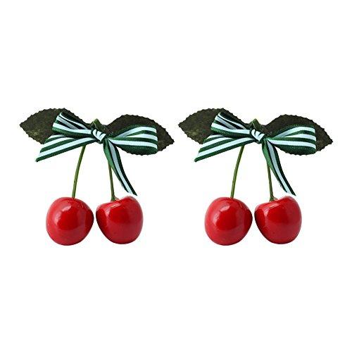 2pcs-girls-sweet-splice-striped-cherry-bow-alligator-hair-clips-hairpin-headwear