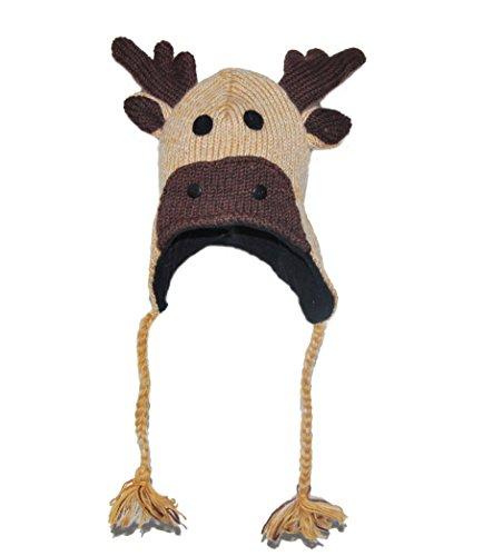 Cappello animale - Alce Adulto - Spedizione gratuita