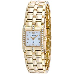 Orphelia Mon-7032 - Reloj analógico de cuarzo para mujer con correa de oro amarillo, color amarillo