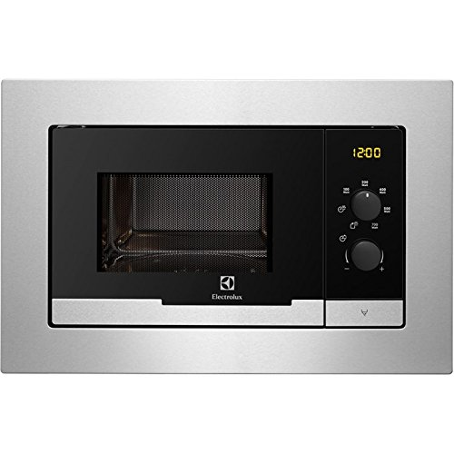 Electrolux EMM20007OX Integrado 20L 800W Acero inoxidable - Microondas (Integrado, 20 L,...