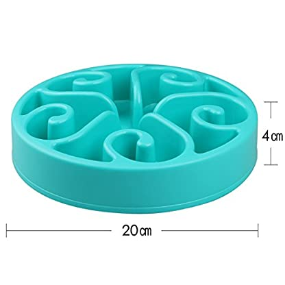 splink Dog Bowl Slow Feed Interactive Fun Feeder Bloat Stop, Prevent Bloating, Anti Choking, Eco-friendly Healthy Eating… 3