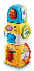VTech Baby Stack and Discover Farm for 6 - 24 Months (Multicoloured)