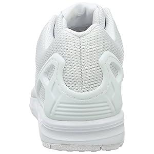 adidas Zx Flux, Zapatillas de Entrenamiento Hombre, Blanco (Ftwwht/Ftwwht/Clgrey), 43 1/3 EU