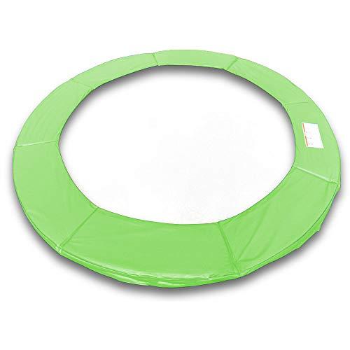 ms point Randpolsterung Gepolsterte Federabdeckung Rahmenpolsterung für 400cm Trampoline Breite 23cm Stärke 18mm in Hellgrün