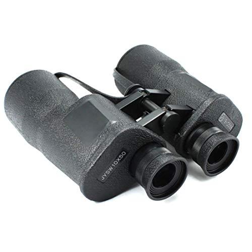 Ploekgda 10X50 HD-Fernglas Weak Light Night Vision, Kompakte Teleskope für Vogelbeobachtung, Sportveranstaltungen, Reisen, Abenteuer und Konzerte mit Tragetasche