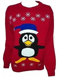 Männer und Frauen xmas christmas Gefrorene Olaf Jumper Neuheit rudolph Pinguin Winter Pullover Plus Größe 36-42