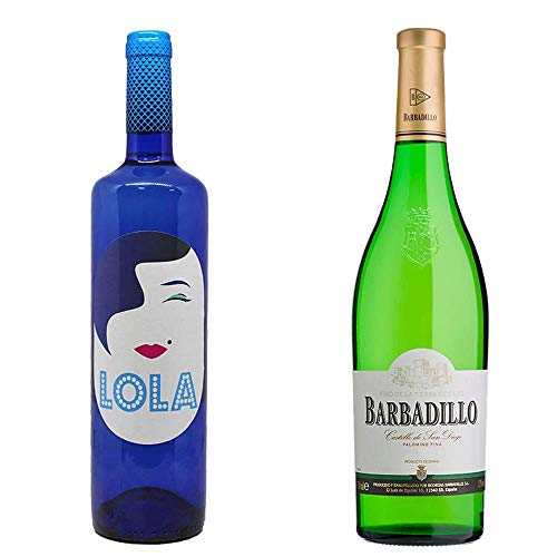 Lola Blanco Semidulce Y Castillo San Diego - Vino Blanco - 2 Botellas De 750 Ml