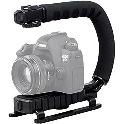 ayex–Acción vídeo Grip estabilizador para videocámaras y DSLR–Trípode estabilizador para ruhige vídeos