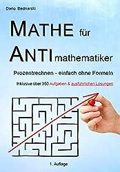 Mathe für Antimathematiker - Prozentrechnen - einfach ohne Formeln
