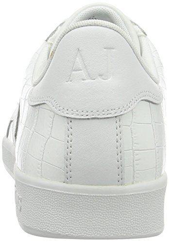 Armani Jeans 935565cc502, Sneakers basses homme Weiß (BIANCO 00010)