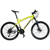 Helliot Bikes Oslo Pro 01 Bicicleta de montaña, Adultos Unisex, Amarillo, ...