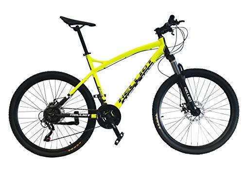 Helliot Bikes Oslo Pro 01 Bicicleta De Montaña, Amarillo, M-L