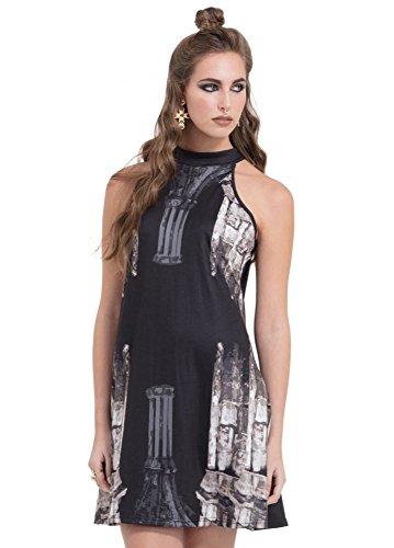 Jawbreaker Kleid CHURCH COLMN DRESS 8351 schwarz Schwarz