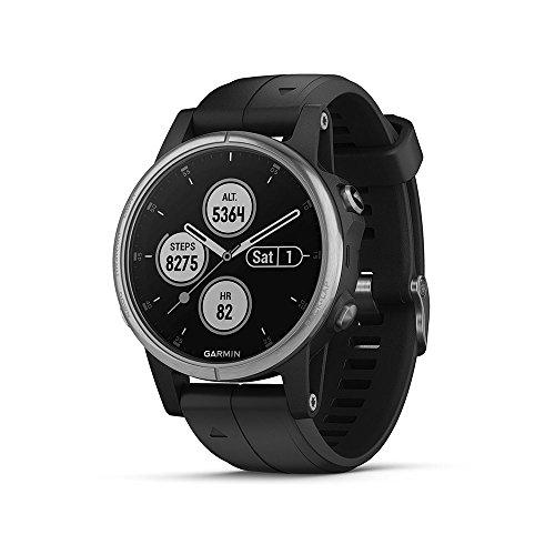 Garmin Reloj GPS multideporte exterior negro (Fenix 5S Plus)
