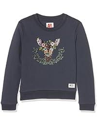 AO 76 C-Neck Sweater Deer, Felpa Bambina