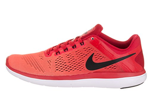 Nike Flex 2016 Rn, Chaussures de Running Entrainement Homme Rojo (University Red / Black-Bright Crimson)
