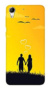 SWAG my CASE PRINTED BACK COVER FOR HTC DESIRE 728 Multicolor