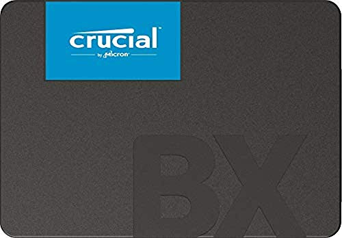 Crucial BX500 CT960BX500SSD1 960 GB Internes SSD (3D NAND, SATA, 2, 5-Zoll) Standard Packaging