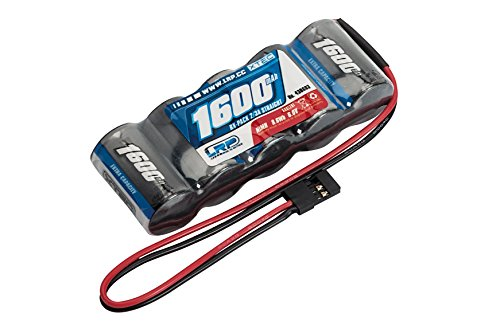 LRP Electronic 430603 - XTEC RX-Pack Straight 2/3A NiMH, JR, 6.0V, 1600 mah Rx Pack