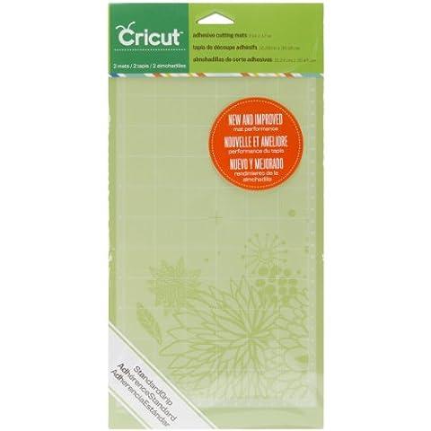 Cricut Standard Grip Cutting Mat, Adhesive, Green, 6 x 12 -Inch, 2-Piece
